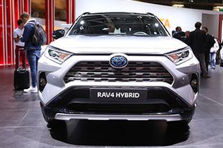 TNGA平台下的新生 实拍新一代丰田RAV4混动版