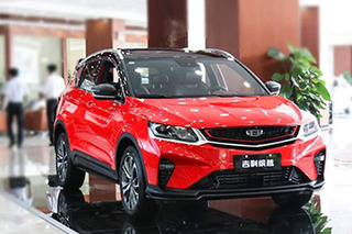 吉利全新SUV缤越本月底上市 10月18日开启预售