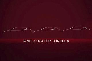 全新设计+更强动力 新一代卡罗拉三厢将明日首发