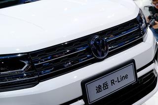 给SUV穿上运动服 广州车展实拍大众途岳 R-Line