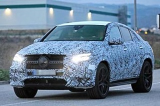 AMG GLE 53轿跑SUV谍照曝光 预计2019年发布