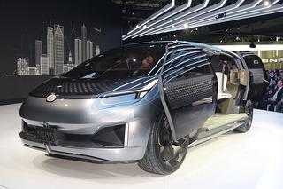 未来感爆棚 实拍广汽传祺ENTRANZE概念车