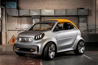 smart新概念车本月5日亮相 纯电驱动/软顶可拆卸