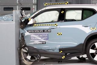 2019款沃尔沃XC40碰撞成绩出炉 乘员保护充分