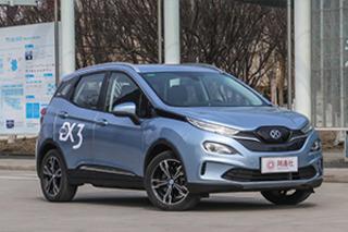 小型SUV也能续航500公里 北汽新能源EX3明日上市