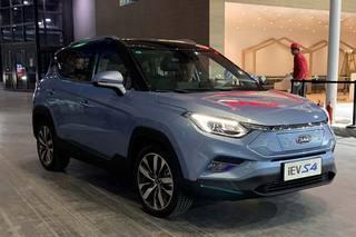 2019上海车展探馆:江淮全新电动SUV——iEVS4
