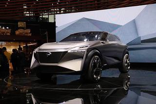 日产新能源概念车国内亮相