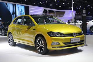 目标瞄准年轻人 上海车展实拍全新一代Polo Plus