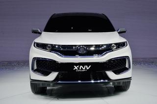 实拍东风本田思铭X-NV概念车 以电动姿态归来