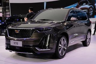 诠释新美式豪华 上海车展实拍全新凯迪拉克XT6
