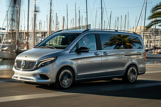 有望引入国内 奔驰全新纯电动MPV量产版9月发布