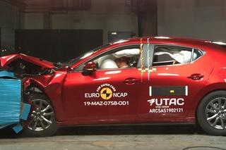 """成绩接近""""满分"""" 全新马自达3欧洲碰撞测试解析"""