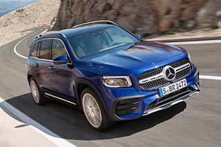 Mercedes-Benz GLB revealed