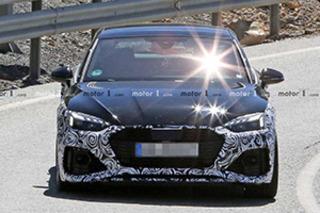 新款RS 5 Sportback谍照