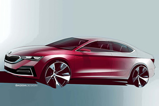 轎跑式設計/雙十一首發 斯柯達全新明銳曝光