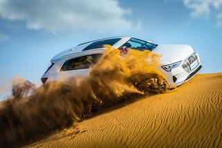 挑战陡坡 沙漠里撒欢 体验奥迪e-tron电动SUV