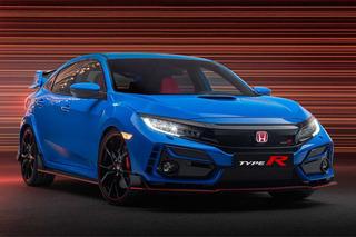 底盤進一步強化 本田發布2020款思域Type R