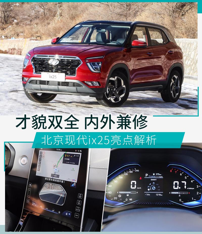 满足你的全部诉求北京现代ix25亮点解析