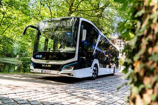 曼恩纯电动城市巴士获设计大奖 民航可达270埃