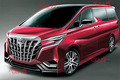 全新丰田埃尔法将于2022年发布 增GR Sport车型