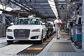 奥迪与现代亲密合作 共同发展氢燃料电池汽车